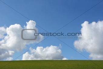 Earth, Clouds and Sky
