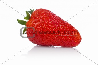 A fresh and tasty strawberry
