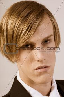 Formal Headshot (Sepia)