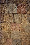 Ancient block wall