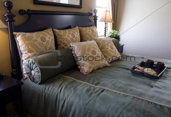 Beautiful new bedroom  interior