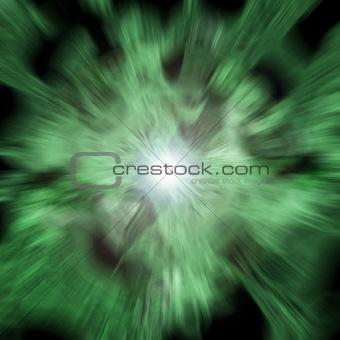 green blast