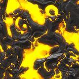 hot molten lava