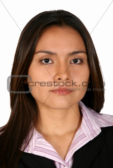 beautiful business woman portrait