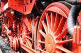 Closeup of train wheels -2