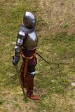 Armoured knight with swords