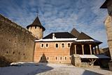 Ukrainian fortress Hotyn