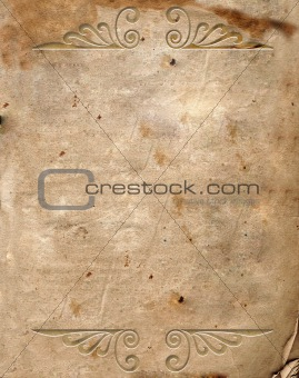 background image with ornamental elements