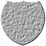 3D Stone Shield