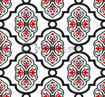 Antique seamless pattern