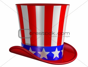 Isolated Top Hat for Uncle Sam