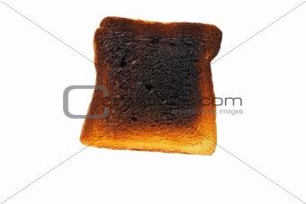 Slice of toast bread