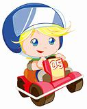 cute car racer