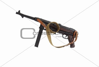 Old Submachine Gun
