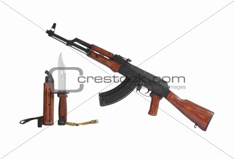 AK47 Submachine Gun