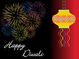 happy deepawali, illustration