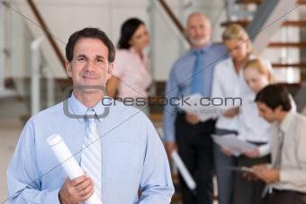 portrait of business executive