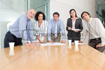 business group meeting