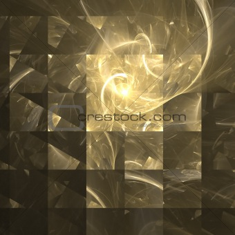 Abstract background. Yellow gold palette.