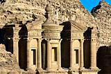 Monastery tomb Petra