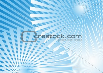 Abstract Background, ray