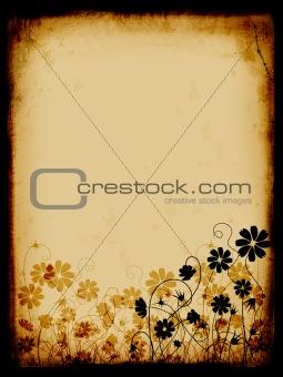 Grunge background, old paper, pattern
