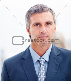 Portrait of a confident mature business man