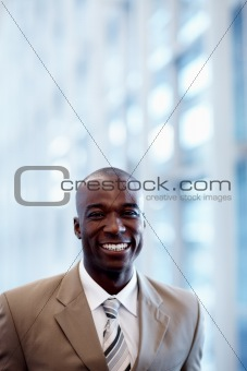 Portrait of successful and confident business man