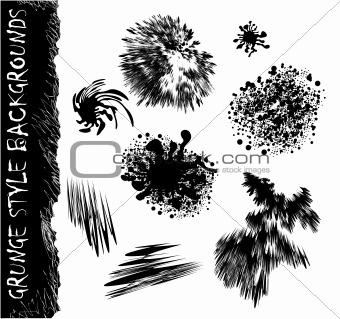 Black Drops shapes