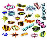 Comic Word Expressions