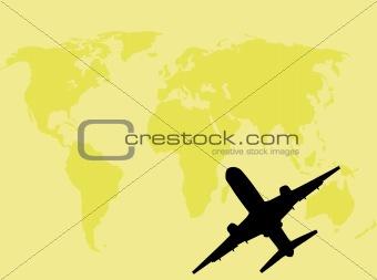Airplane travel