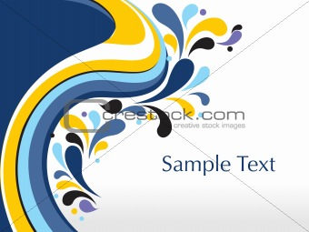abstract background with place for text, design31