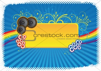 colourful party background