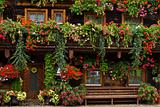 Typical floral adornments in Austria