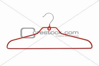modern red hanger