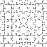 Jigsaw background, fully editable, all pieces are individual.