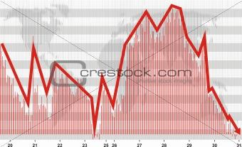 Business crisis chart