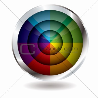 beach ball button target