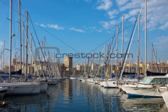 Port of Marseille in France