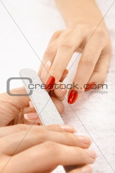 File for nails