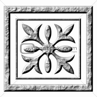 3D Stone Ornament