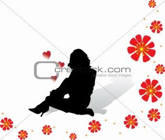 Sitting gir