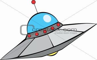 Retro Flying Saucer