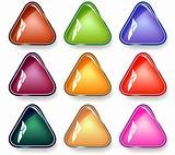 Triangular buttons