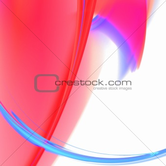 Abstract background. Blue - red palette.