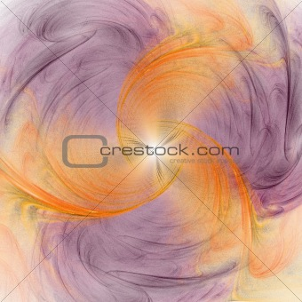 Abstract background. Purple - orange palette.