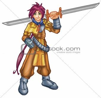 anime warrior