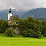 St Nikolaus Church, Golling, Austria