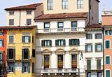 facade in Verona, Italy