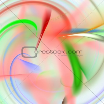 Abstract background. Green - red palette.